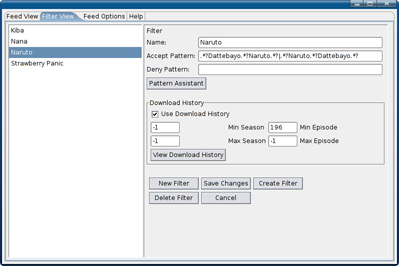 RSS Feed Downloader (ScaneRSS) [Vuze Automation Plugin]